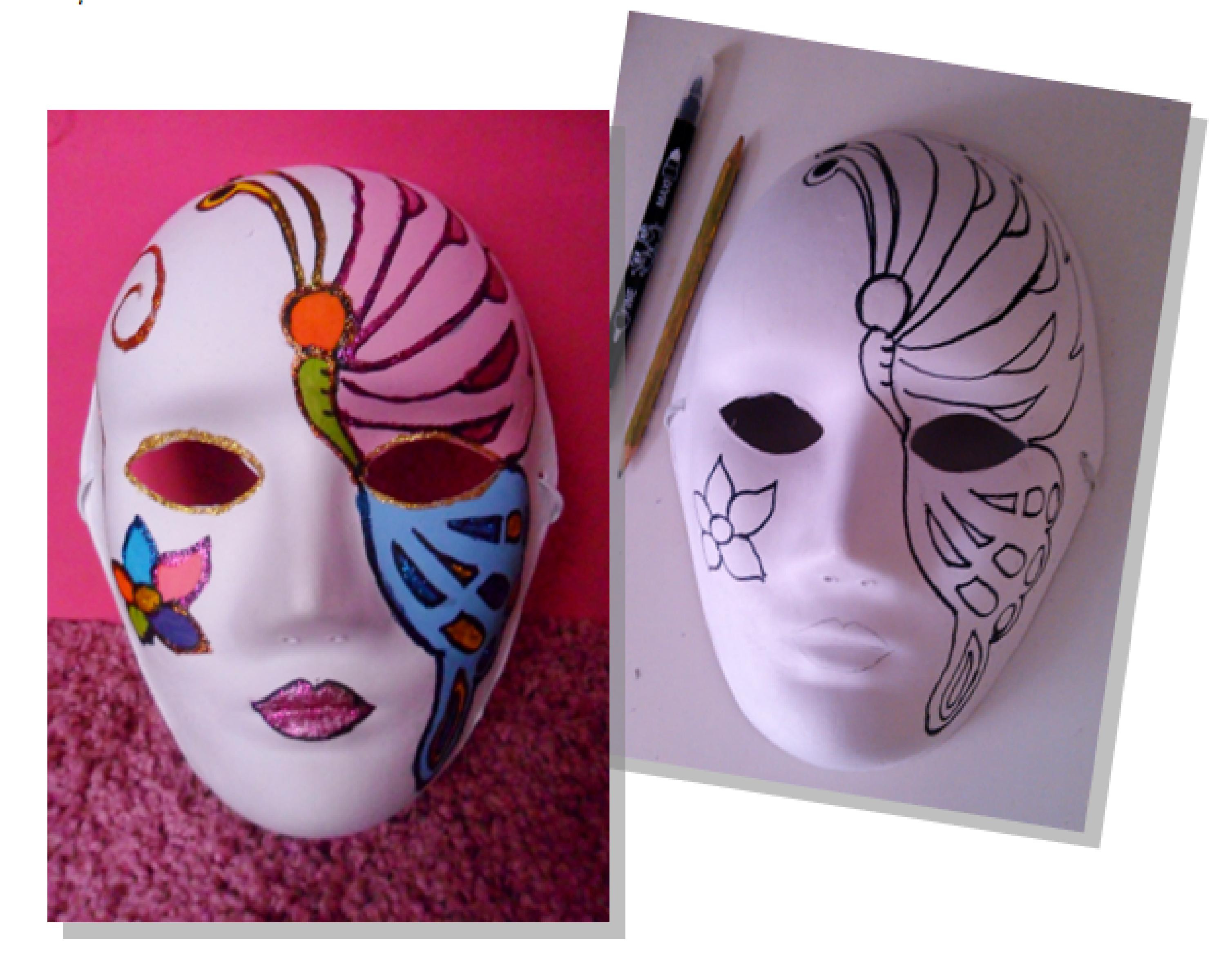 Taller de mascaras equilicua - Mascaras venecianas decoracion ...